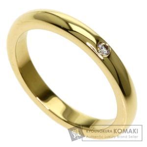 TIFFANY&Co. ティファニー スタッキングバンドリング ダイヤモンド 2.5mm リング・指輪 K18イエローゴールド レディース 中古|kyounokura