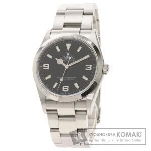 ROLEX ロレックス 114270 エクスプローラー 腕時計  ステンレススチール SS メンズ  中古|kyounokura