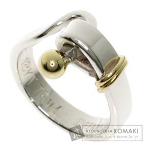 TIFFANY&Co. ティファニー フック&アイ リング・指輪 シルバー レディース 中古 kyounokura