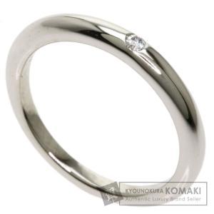 BVLGARI ブルガリ フェディ ウェディング リング 1P ダイヤモンド リング・指輪 プラチナPT950 レディース 中古|kyounokura