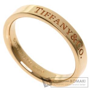 TIFFANY&Co. ティファニー バンドリング リング・指輪 K18ピンクゴールド レディース 中古 kyounokura