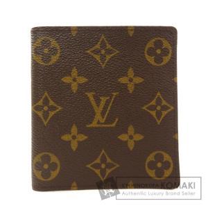 LOUIS VUITTON ルイヴィトン M60883 ポルトビエ・10カルトクレディ モノグラム 二つ折り財布(小銭入れなし) モノグラムキャンバス レディース 中古|kyounokura