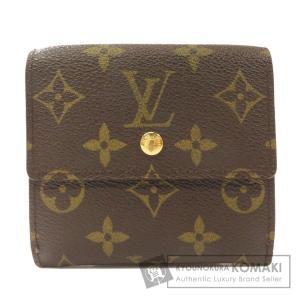LOUIS VUITTON ルイヴィトン M60235 ポルトフォイユエリーズ Wホック 二つ折り財布(小銭入れあり) モノグラムキャンバス レディース 中古 kyounokura
