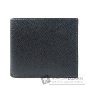 LOUIS VUITTON ルイヴィトン M42101 ポルトフォイユ アメリゴNM タイガ 二つ折り財布(小銭入れあり) タイガレザー メンズ 中古 kyounokura