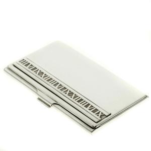TIFFANY&Co. ティファニー  アトラス カードケース シルバー レディース  中古