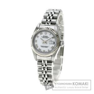 ROLEX ロレックス79174 デイトジャスト 腕時計 K...