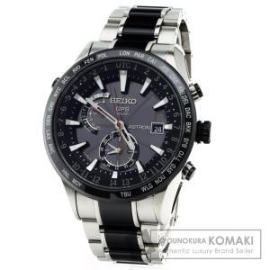 SEIKO セイコーSBXA015 7X52-0AF0 アストロン 腕時計 チタン/セラミック メンズ  中古