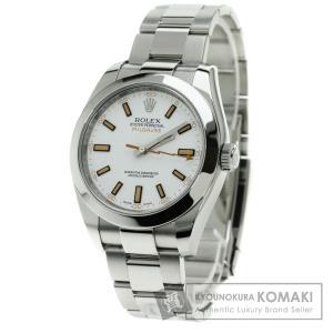 ROLEX ロレックス116400 ミルガウス 腕時計 ステ...