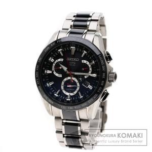SEIKO セイコー SBXB041/8X53-0AB0-2 アストロン 腕時計 チタン/セラミックxチタン メンズ  中古
