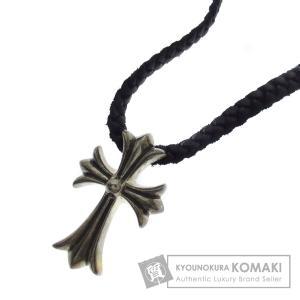 CHROME HEARTS クロムハーツ スモールCH ネックレス シルバー メンズ 中古|kyounokura