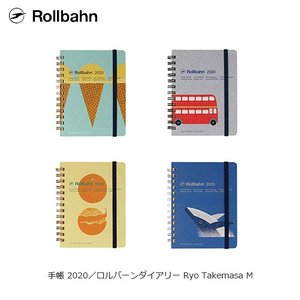 デルフォニックス ロルバーンダイアリー M Ryo Takemasa 武政諒 手帳 2020