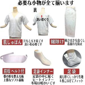 和装小物 20点セット M・ Lサイズ  足袋付き 着物 着付け 小物セット 振袖 訪問着 着物 婚礼に  3-6138  あすつく  kyouto-usagido 02