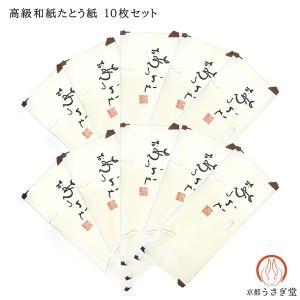 着物用たとう紙10枚セット うす紙付き 和紙 収納  gift-039 和装小物 着物用文庫  折り曲げずに発送|kyouto-usagido
