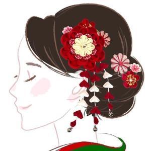 髪飾り 3点セット kk-033 黄色 グリーン コーム型  かんざし 成人式 振袖 卒業式 結婚式 |kyouto-usagido