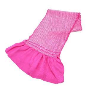 特選 正絹総絞り帯揚げ 絹100% oa-013 赤色 送料無料 kyouto-usagido