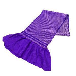 正絹総絞り帯揚げ 紫色 絹100% oa-020 送料無料 kyouto-usagido