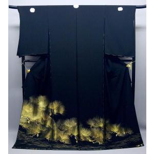 黒留袖 京の老舗 山口美術織物 正絹 to-320 結婚式 kyouto-usagido