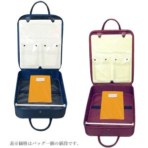 着物バッグ  和装 着物 wk-043  着物かばん  和装ケース 防水加工 日本製 風呂敷付き|kyouto-usagido