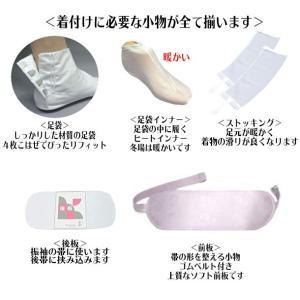 和装小物セット 23点セット 着物バッグ 足袋付き 必要なもの全て揃った 紐6本 初心者   振袖 着物全般 婚礼  wk-352  着付 小物セット 送料無料|kyouto-usagido|03