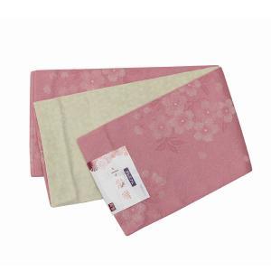 浴衣帯 半巾帯 リバーシブル 半幅帯 ゆかたおび 小袋 花柄 254|kyouya