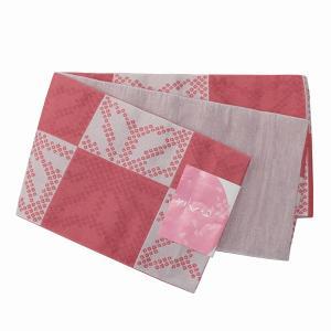 浴衣帯 半巾帯 リバーシブル 半幅帯 ゆかたおび 小袋 花柄 257|kyouya