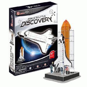 遊び&創意  3Dパズル スペースシャトル・ディスカバリー kyouzai-j