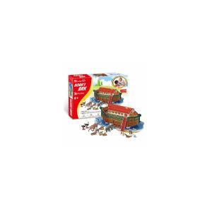 遊び&創意  3Dパズル(ノアの方舟) kyouzai-j