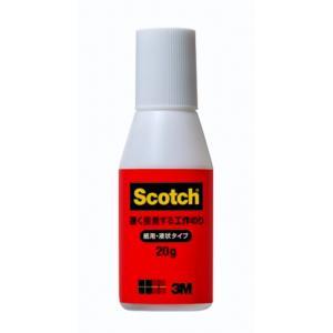 のり・接着剤 Scotchスコッチ 3M 速く接着する工作のり 紙用・液状タイプ kyouzai-j