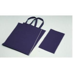 家庭科教材 基礎縫い かんたんトートバッグ (ブルー)|kyouzai-j