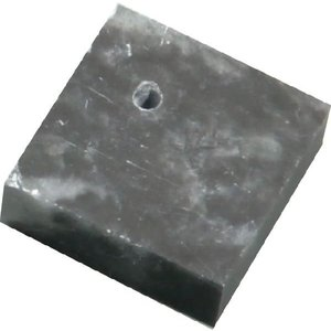 理科実験 工作キット まがたまづくりセット 黒蝋石穴あり|kyouzai-j