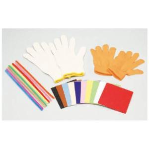 家庭科教材 手袋人形 赤|kyouzai-j