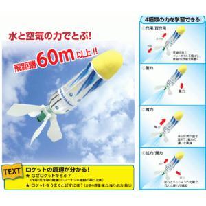 教材 理科実験 ペットボトルロケットがとぶしくみ|kyouzai-j