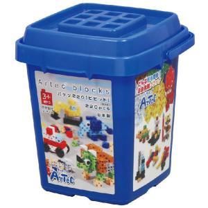教材 知育玩具 遊び創意 ブロック バケツ 220 ビビッド(基本色)|kyouzai-j
