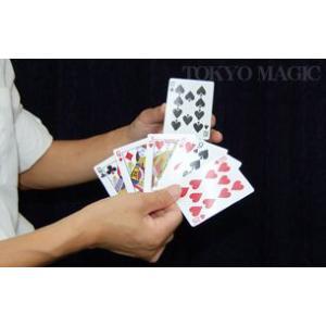 マジック・手品用品  小さくなるカード 簡単手品 マジシャン 余興 忘年会 新年会 パーティー 宴会|kyouzai-j|02