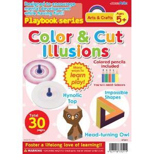 教材 幼児プレイブック英語版 目のさっかく|kyouzai-j