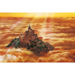 ジグソーパズル 世界遺産シリーズ209 モン・サン・ミシェルとその湾?(300ピース) ジグソーパズル300ピース|kyouzai-j