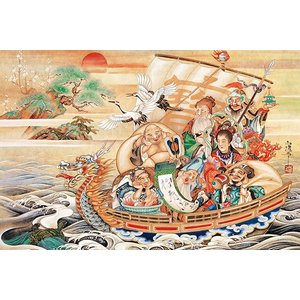 ジグソーパズル 蓬莱宝船(1000ピース) ジグソーパズル1000ピース|kyouzai-j