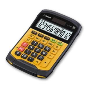 『教材 おもしろ教材』 洗える電卓『防水・防塵電卓』ミニジャストタイプ12桁|kyouzai-j