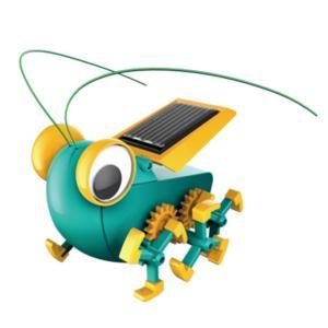 (ロボットエコエネルギー)ロボット組立 太陽エネルギー ギア機構 エレキット メカホッパー|kyouzai-j