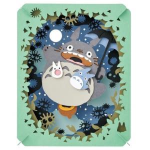 エンスカイ PAPAER THEATER ペーパーシアター スタジオジブリ作品 となりのトトロ(月光る大空)PT-048|kyouzai-j