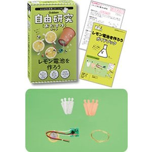 学研 自由研究おたすけキット『レモン電池を作ろう』 kyouzai-j 02