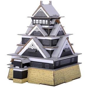 (hacomo段ボール工作キット)日本のお城 熊本城|kyouzai-j