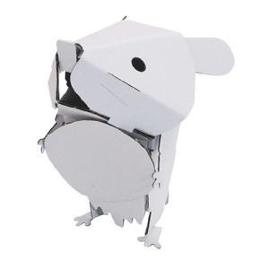 (hacomoダンボール工作キット)hacomo kids ハコモ キッズ 動物シリーズ ハムスター|kyouzai-j