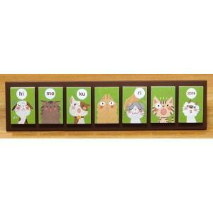 めくって貼れる!卓上型の日めくり付せんカレンダー2019 himekuriヒメクリ Page-a-day calendar(cat) kyouzai-j
