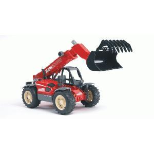 知育玩具 模型 ブルーダー<ドイツ製> MANITOUテレスコープローダー 1/16模型|kyouzai-j