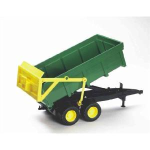 知育玩具 模型 ブルーダー<ドイツ製> グリーントレーラー 1/16模型|kyouzai-j