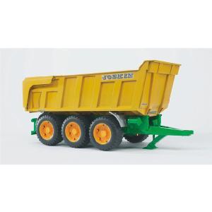 知育玩具 模型 ブルーダー<ドイツ製> JOSKIN Tipトレーラー 1/16模型|kyouzai-j