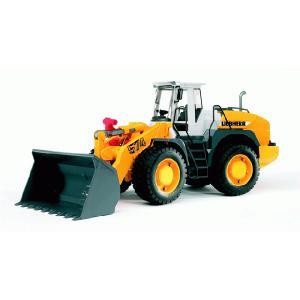 知育玩具 模型 ブルーダー<ドイツ製> LHロードローダーL574 1/16模型|kyouzai-j