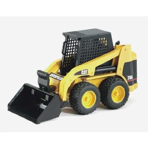 知育玩具 模型 ブルーダー<ドイツ製> CATスキッドステアローダー 1/16模型|kyouzai-j