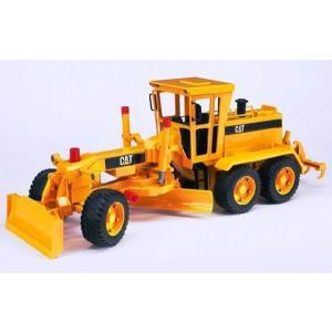 知育玩具 模型 ブルーダー<ドイツ製> CATグレーダー 1/16模型|kyouzai-j